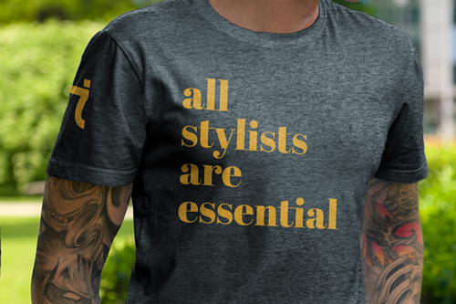 All Stylists Are Essential Men's Shirt