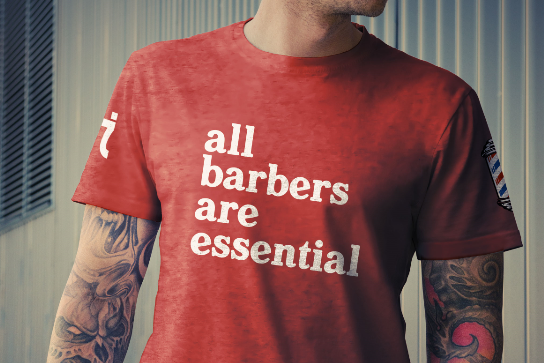 All Barbers Are Essential Shirt