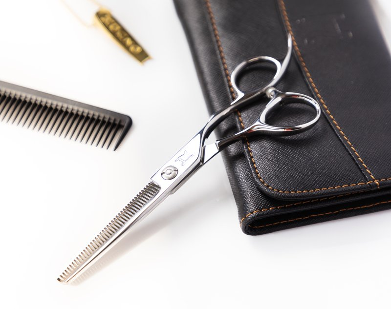 Talking Texturizer Shears With Hattori Hanzo